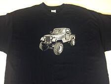 Jeep CJ8 Scrambler T Shirt. XXL