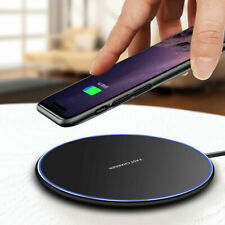 15W Qi Fast Wireless Charger Charging Pad Mat For iPhone 11 XS XR 8 Samsung S20