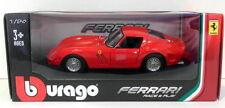 Artículos de automodelismo y aeromodelismo Burago color principal rojo Ferrari