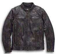 Men's Dauntless Convertible Motorcycle Leather Jacket