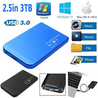 "2.5"" USB3.0/USB2.0 SATA SSD HDD Hard Drive LED Disk Dock Enclosure Case Statio"