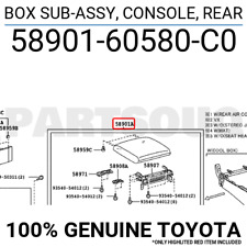 Toyota 74102-52030-C0 Ash Receptacle Assembly