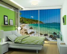 3D Ocean sky 46 Blockout Photo Curtain Printing Curtains Drapes Fabric Window AU