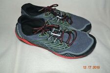 MERRELL GREY/RED PERFORMANCE SHOE MENS SIZE 10