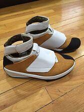 2005 Nike Air Jordan XX 20 EAST COAST CHUTNEY YELLOW WHEAT WHITE BLACK - SZ 11