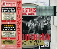 THE ROLLING STONES-FROM THE VAULT-THE MARQUEE...-JAPAN DVD+3 CD Ltd/Ed AB88 sd