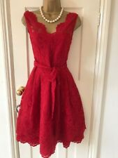 Gorgeous Phase Eight Fit & Flare,  Scarlet Red, Occasion, Party Dress UK8