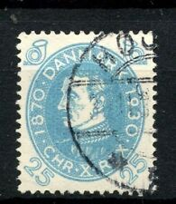 Denmark 1930 SG#261, 25ore Light Blue Used #A57195