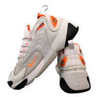 Nike Air Zoom 2K Women's Shoes Size Uk 5 Grey Orange Casual Trainers EUR 38.5