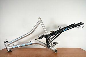 """RARE  Haro Extreme XCR 19"""" Suspension Frame Mountain Bike"""