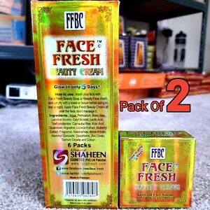 🔥2x Face Fresh Beauty Cream 100% Original Skin Whitening  ✨✨ GREAT PRICE ✨✨