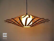 UFO, Wooden lamp,hanging lamp,ceiling light, wood lamp,wooden fixture BRADABRADA