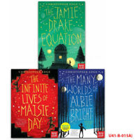 Christopher Edge Collection Infinite Lives of Maisie Day Jamie 3 Book Set PB NEW