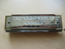 """M. HOHNER """"THE CHROMONICA"""" Vintage Chromatic Harmonica made in Germany"""