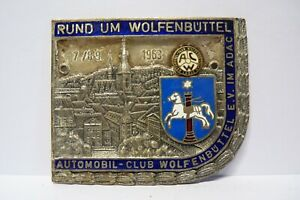 Auto Plakette Automobil Club ACW Wolfenbüttel 1963