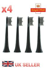 x4 Charcoal Toothbrush Heads for Philips Sonicare DiamondClean HX6064 W2 Optimal