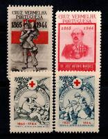 Portugal 1944 MNH 80% Vermelha Cross, 1944, Nurse
