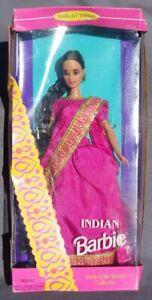 BARBIE Indian Indio India Dolls Of The World Muñeca Del Mundo 1995 Mattel 14451