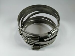 Ideal Hose Clamps 110mm - 130mm - Qty 8 P/N 54130