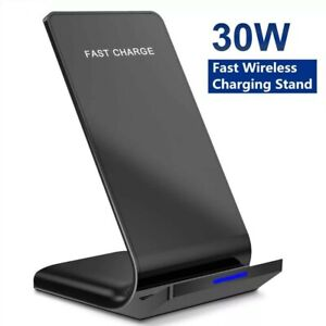 Wireless Charger For IPhone 12 Android Fast Wireless  Stand Dock Holder Charging