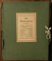 Portfolio of Art Masterpieces Series I - 1950s Book of the Month Club