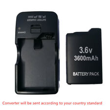 New 3.6V Rechargeable Battery + charger for Sony PSP-1001 PSP 1000 Series  new