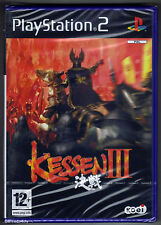 PS2 Kessen III (2005) UK/Euro Pal, French Version, New & Sony Factory Sealed
