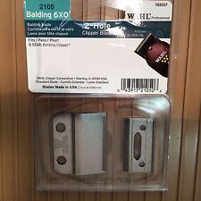 WAHL Balding Clipper BLADE #2105 2HOLE / BALDING 6XO - CLIPPER BLADE Replacement