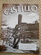 1949 Castillo Spanish 17th Fortress in Saint Augustine Florida Brochure Book St.
