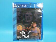 jeu video neuf sony ps4 neuf USA limited run #74 night trap