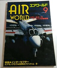 AIR WORLD 9 - 1986 JAPANESE MAGAZINE - INC. DO 335 / DC-3 / F-4 PHANTOM / A-10