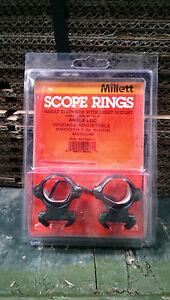 "Millett 1"" Weaver Style Angle Loc Medium Rings"