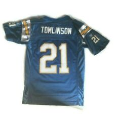 TOMLINSON YOUTH REEBOK JERSEY CHARGERS SAN DIEGO LADAINIAN NFL 21 MEDIUM 10 12