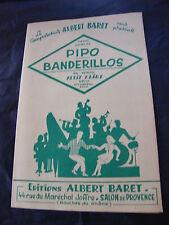 Partitur Pipo Banderilleros Albert Baret Music -blatt