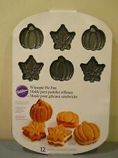 wilton mini cake cakes pan jello mold  rice crispy treat whoopie pie fall autumn