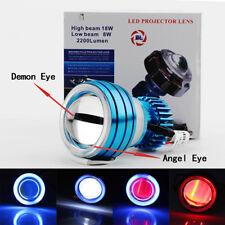 LED Projector Headlight Devil Angel Eye Fit Kawasaki Ninja ZX10 ZX10R ZX11 ZX12R