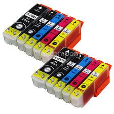 10x XL tinta cartuchos para Epson Expression premium xp630 xp645 xp635 xp830 set