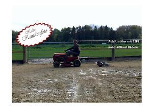 Kalio®1200 Reitbahnplaner Reitplatzplaner Sandplaner mit vollem Zubehör/Zugmaul