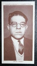 Boxing Referee  Jack Hart   Original 1930's Vintage Photo Card