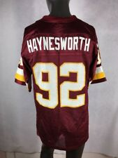 On Field Reebok Washington Redskins #92 A. Haynesworth Jersey Sz-Medium