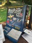 REAL FLIGHT 3D GENERATION 3 FLIGHT SIMULATOR WITH  5 REAL FLIGHT ADD ONS.