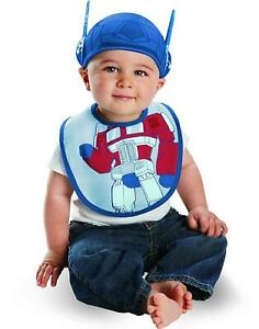 Transformers Optimus Prime Infant Bib and Hat Costume Accessory size O/S