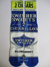 swisher sweets blue berry BUY any 3 GET 4TH PAIR FREE pop culture socks