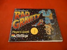 The Adventures of Rad Gravity Nintendo NES Instruction Manual Booklet ONLY