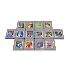 Nintendo® Game Boy® Spielesammlung     GB   GBP   GBC   GBA   GBA-SP   
