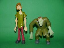 Scooby Doo ~ Creeper & Shaggy ~ Large y totalmente articulado figura, Poseable-Nuevo