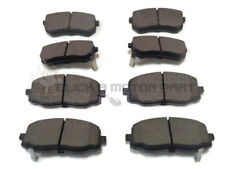 FRONT AND REAR BRAKE PADS FULL SET NEW FOR KIA PICANTO 1.0 1.1 ,1.1D 2004-2010
