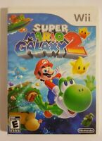 Super Mario Galaxy 2 (Nintendo Wii, 2010) - Case and Disc only NO MANUAL -Tested