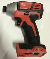 Milwaukee 2656-20 M18 18V 1/4 Inch Lithium Ion Hex Impact Driver with 1,500