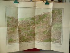 Plan, superbe carte:  ZIAMA Algérie 1901 - WORLD FREE Shipping*